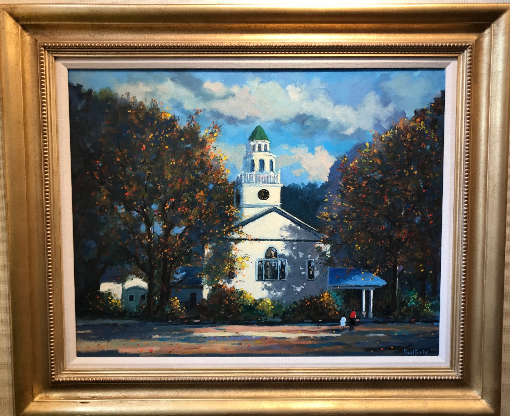 Congregational Church  22x28 $12,500