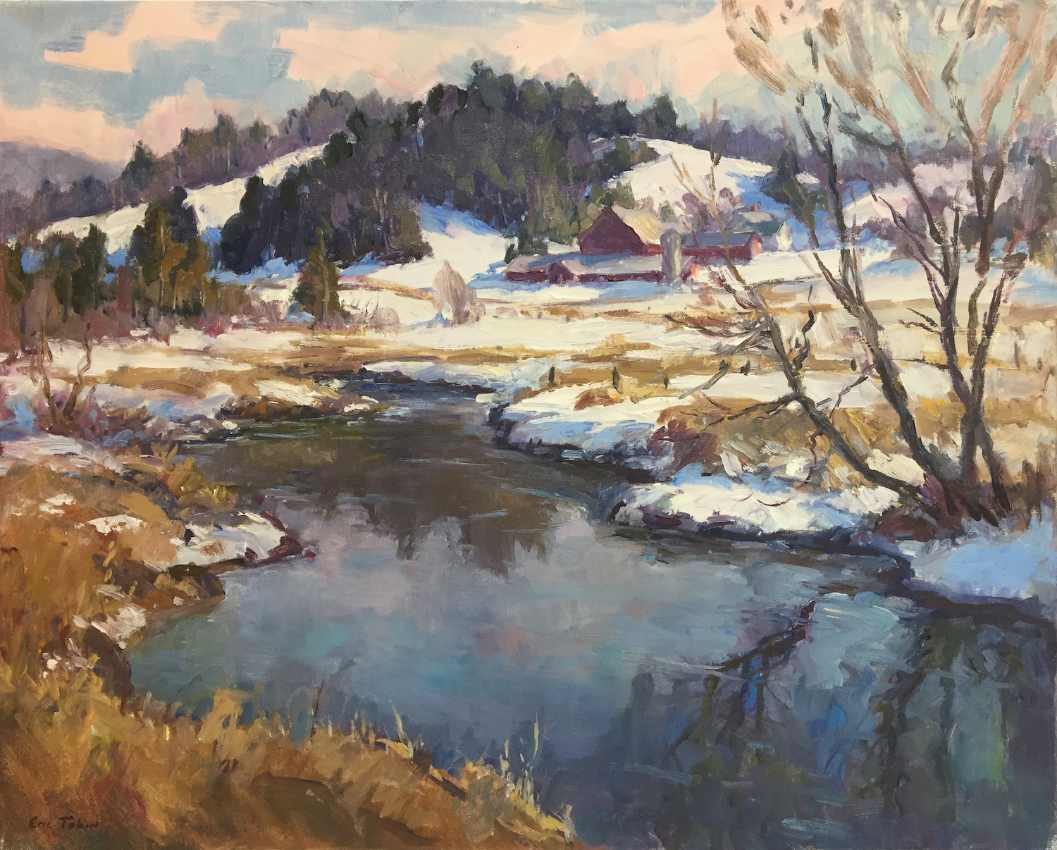 ET End of Winter 24x30 oil $$4,800