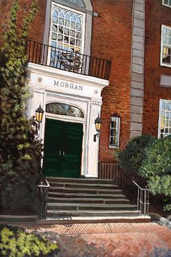 "Morgan Hall at Harvard 36"" x 24"" Oil Retail $6,700  Online $4,700"