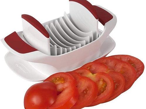 Mantavya Tomato Slicer Standard, Red, 25.5 X 10 X 6 cm