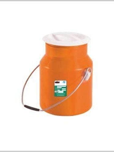 Actionware Unbreakable Plastic Milk Container, 5L (Blue and Orange, CN-551)