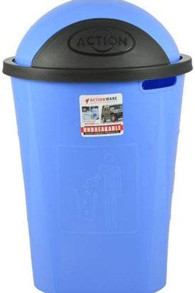 Actionware Plastic Garbage Dust Bin, 60 L (Multicolour)