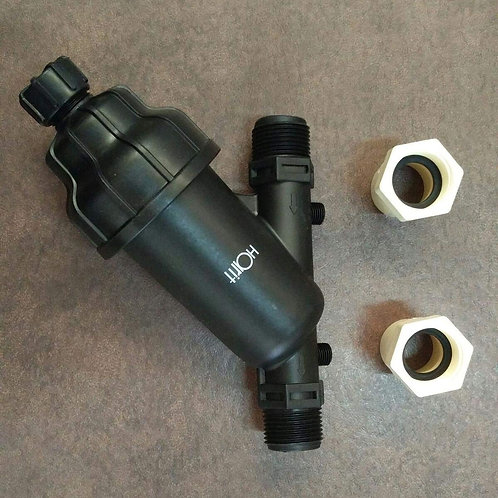 Harit 1 Inch Inlet Water Tank Filter Y Type- with Cpvc Adaptor (FTA)