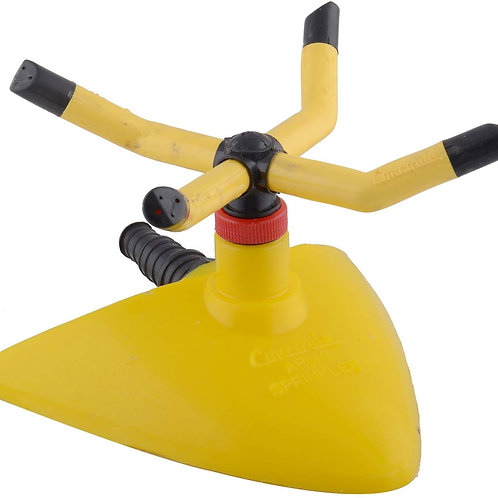 Flora Yellow Coloured Plastic Garden Water Sprinkler (4 Ltrs)