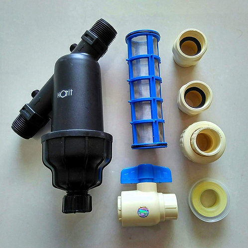 HARIT FROM KARTIK Screen/Water Tank Filter, Replacement Cartridge, CPVC Ball Val