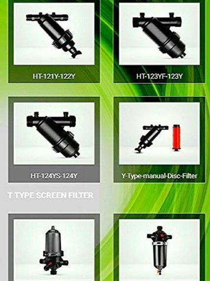 """HARIT FROM KARTIK 3/4"""" Inch Screen Filter/water Tank Filter with One Extra Repla"""