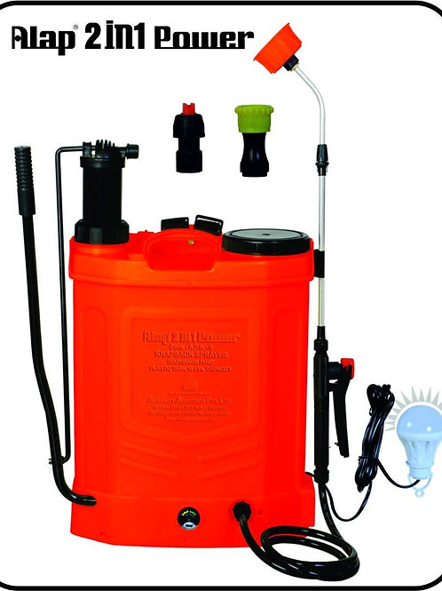 Alap And Milap Battery Opreadted Knapsack Sprayer 2 X 1 16 Lit APS-6