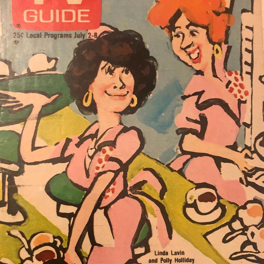 ALICE&FLO TV GUIDE 1978