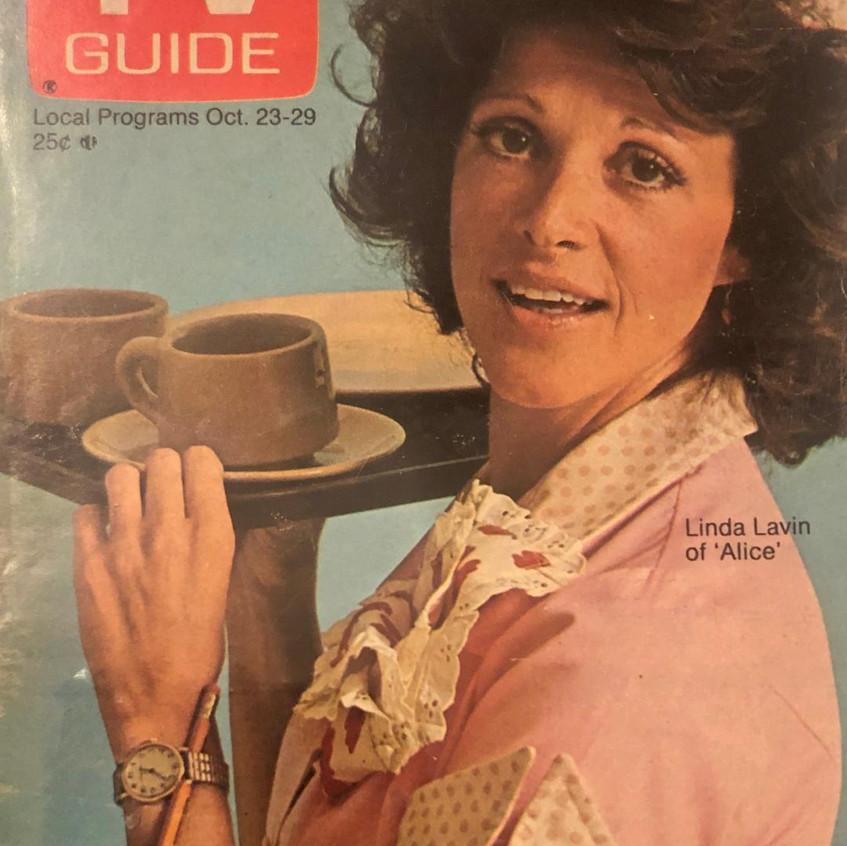 ALICE TV GUIDE COVER LL 1976