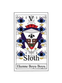 SLOTH CARD 2016