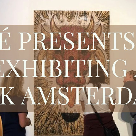 EXHIBITING AT CBK OOST AMSTERDAM