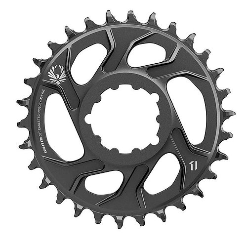 Plateau, Dents: 30, Vitesses: 11/12 X-SYNC 2 Steel / SRAM