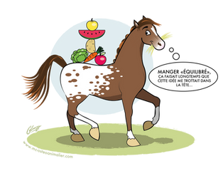 L'importance de l'alimentation dans le bien-être du cheval
