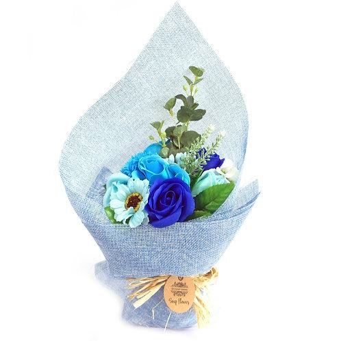 Bouquet fleurs de savons 4 couleurs dispo