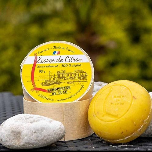 Savon artisanal écorce de citron