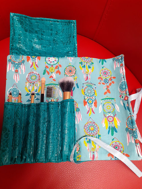 Trousse pinceaux Turquoise