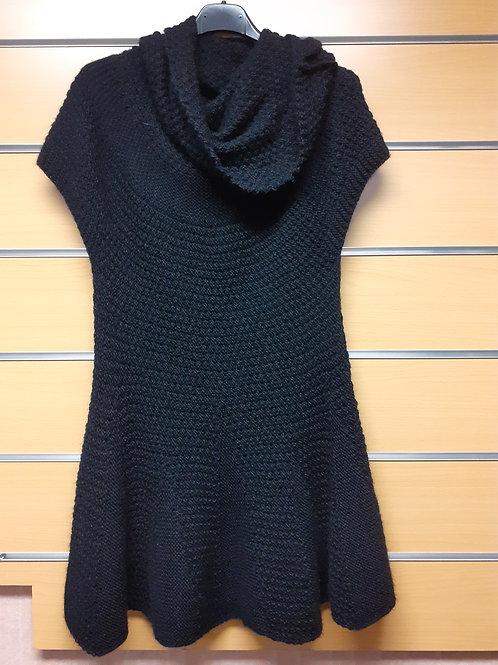 Robe pull noir 36/44