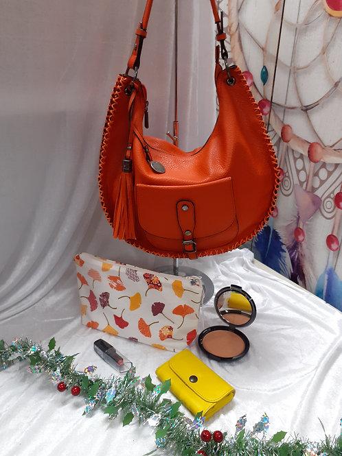 Sac à main Mandoline orange
