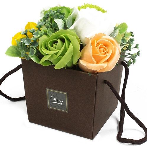 Bouquet de fleurs de savons 3 couleurs dispo
