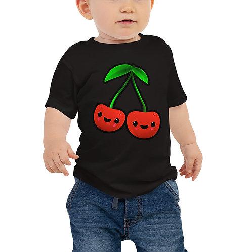 Baby Jersey Short Sleeve Tee - Cherries