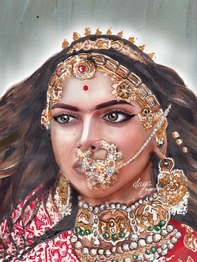 Deepika Padukone as Rani Padmavati