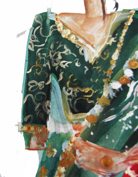Pattern Details of Blouse
