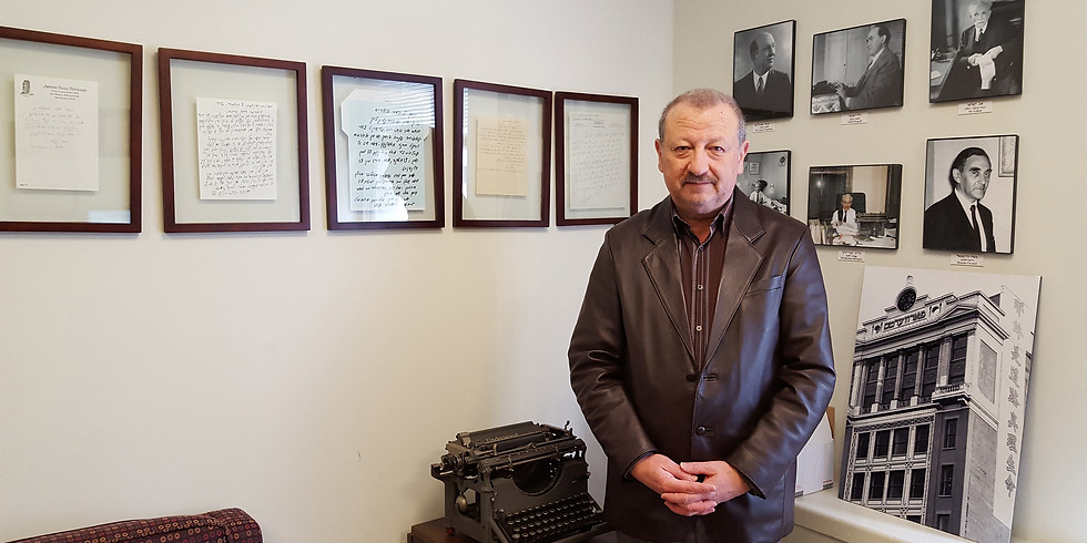 Lecture in Russian with Boris Sandler: О СЕБЕ И МОИХ ЕВРЕЙСКИХ БАШМАКАХ