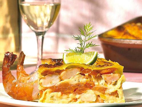 Lasagne de scampis « spécialité maison »