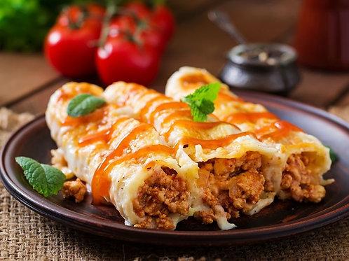 Cannelloni de veau à l'italienne