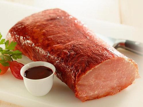 Lomo de porc au piment doux, poêlée d'orge perlé, artichauts et courges