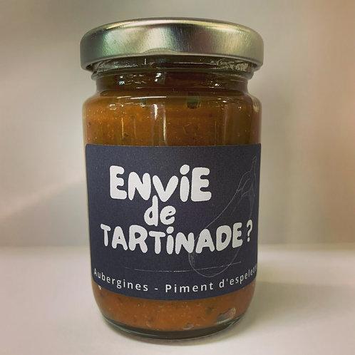 Caviar d'aubergines au piment d'Espelette