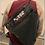 Thumbnail: Zipper Drawstring Backpack Black