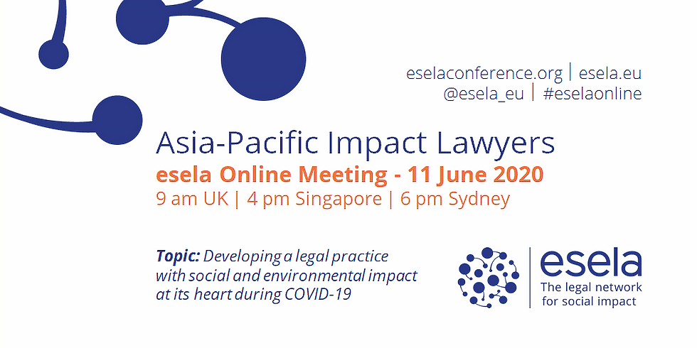 Asia-Pacific Impact Lawyers