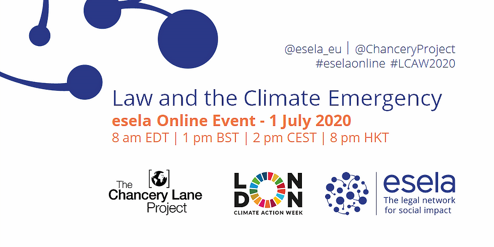 Law and the Climate Emergency