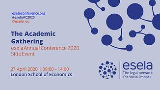 The Academic Gathering - eselaAC2020 -