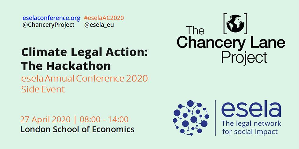 Climate Legal Action: The Hackathon
