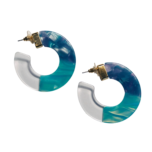 Eva -Blue Earrings