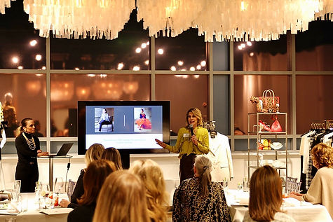 Dawn Mellon, the Savvy Stylist, speaking