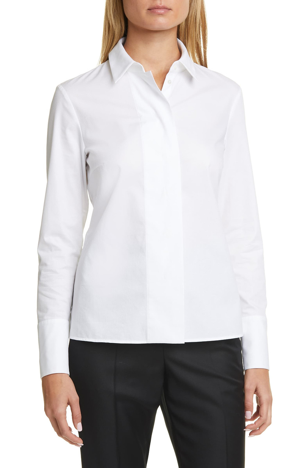 Nordstrom White Blouse