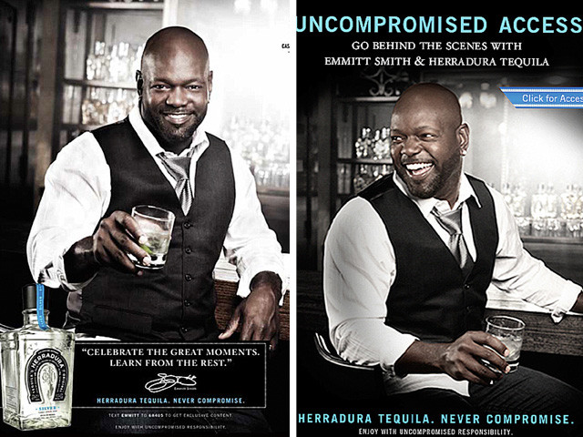 Emmitt Smith for Heradura Tequila