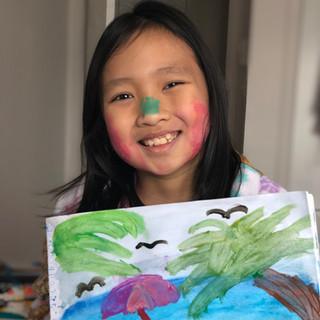 Name of the young artist: Sophia Lauren