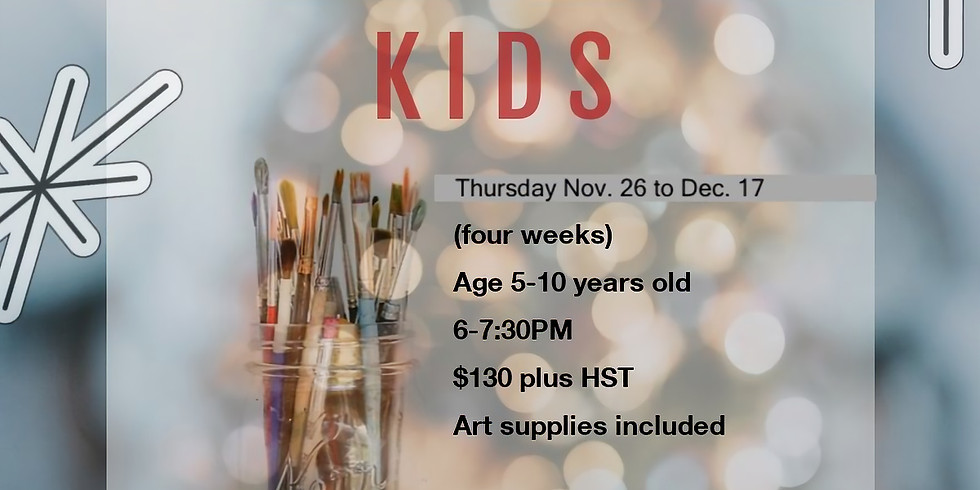 Christmas Art program -KIDS Thursday