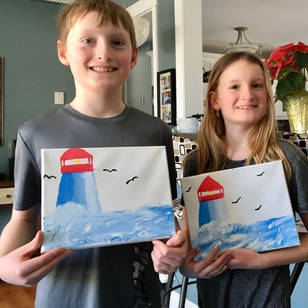 Julia and Ben Matthews - they are 10 yea