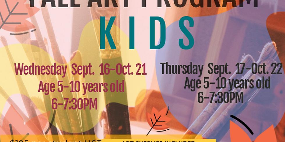 Fall Art program -KIDS Thursday