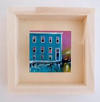 Queen Square Charlotte St I framed