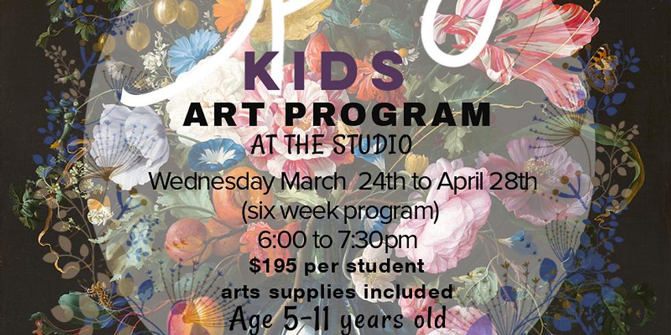 Spring Art Program -Wednesday (STUDIO)