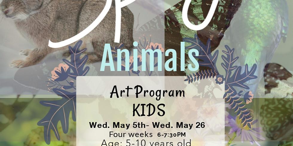 Spring Animals Kids Program