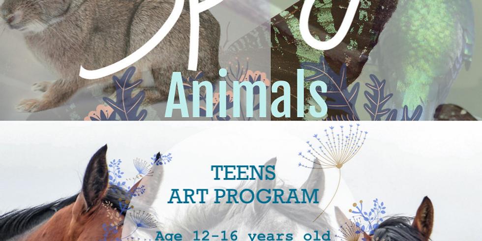 Spring Animals Teens Program