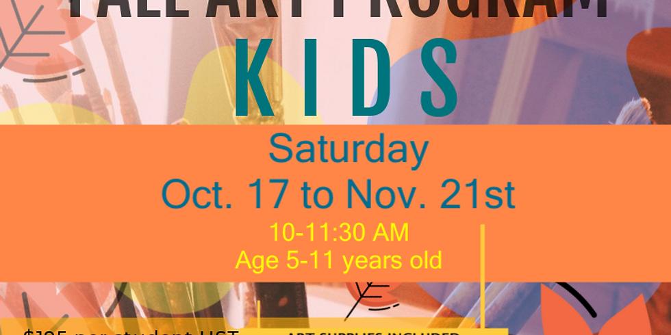 Fall Art program -KIDS Saturday