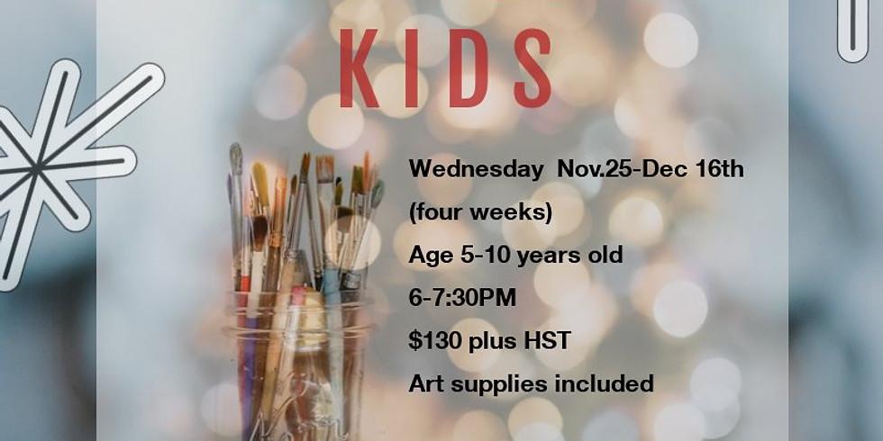 Christmas Art program -KIDS Wednesday